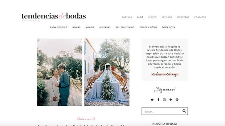 tendencias de boda